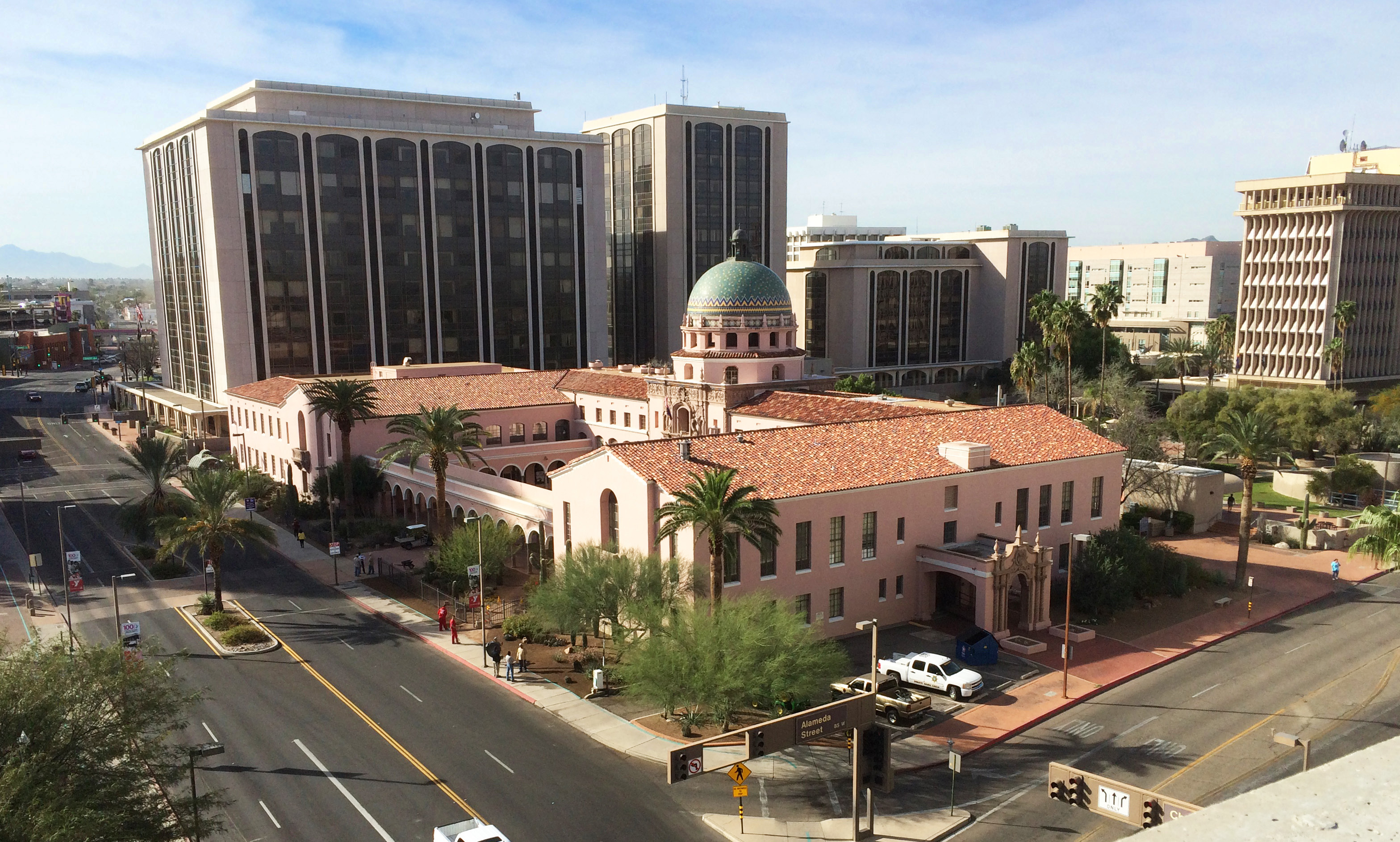 Pima County Courthouse Street View